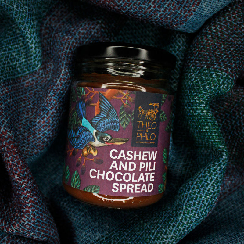 Cashew & Pili Chocolate Spread
