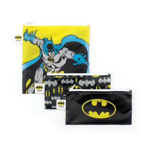 Bumkins 3 pk snack bag combo Batman