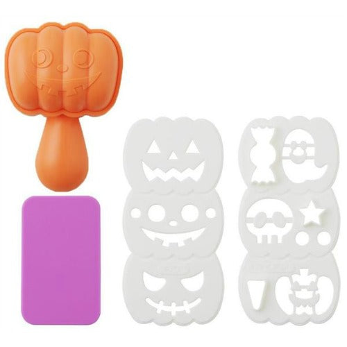 Pumpkin rice mould