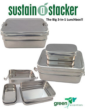 Sustain-a-Stacker Trio Lunch Box