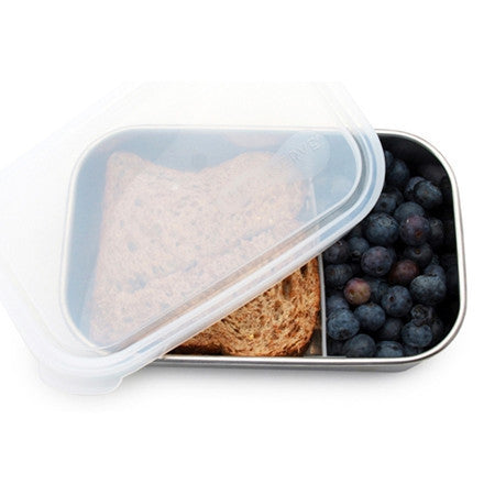 U-Konserve Stainless Steel Lunch Box & Divider - Rectangle