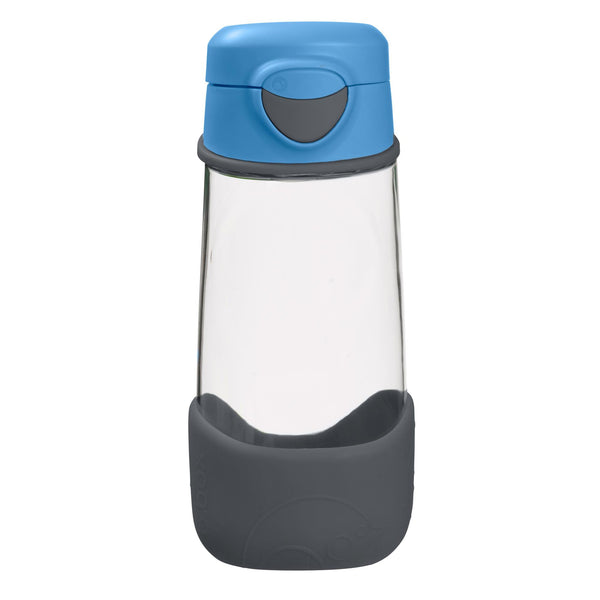 b.box sport spout drink bottle blue slate