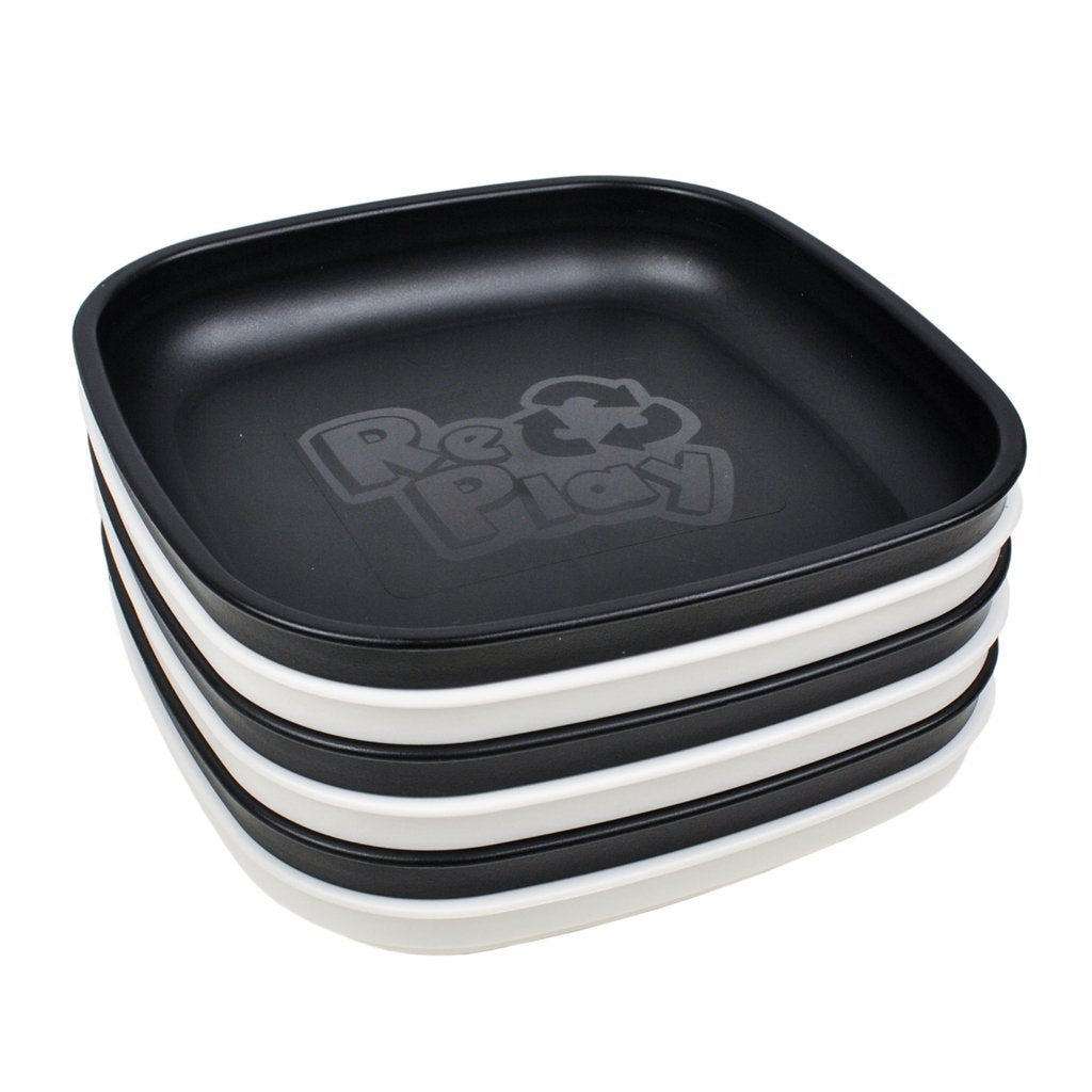 Re-Play Flat Plate Set - Monochrome