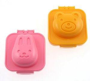 Bunny & Bear Boiled Egg Moulds