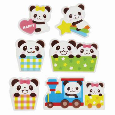 Happy Panda Food Decoration & Dividers