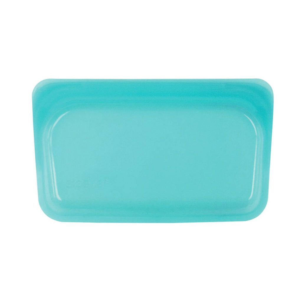 Stasher Reusable Silicone Bag - Snack - Aqua - LAST ONE!