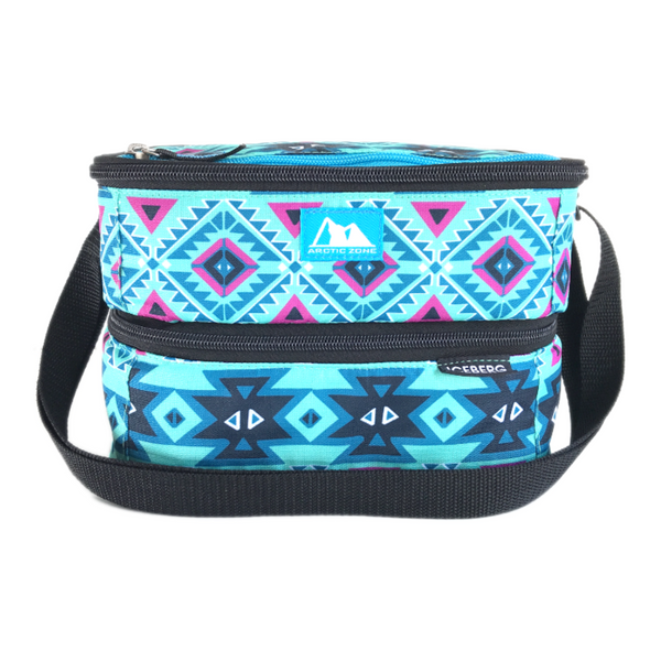 Arctic Zone Dual Layer Insulated Bag - Aztec