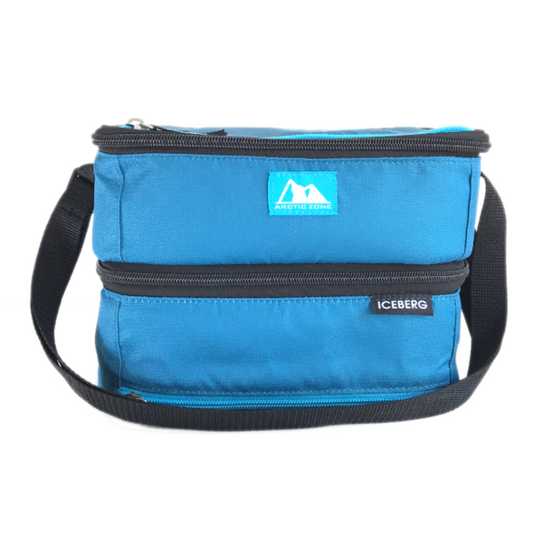 Arctic Zone Dual Layer Insulated Bag - Blue