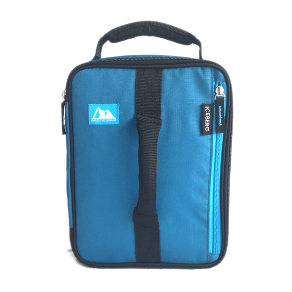 Arctic Zone Expandable Insulated Bag - Blue