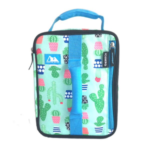Arctic Zone Expandable Insulated Bag - Cactus