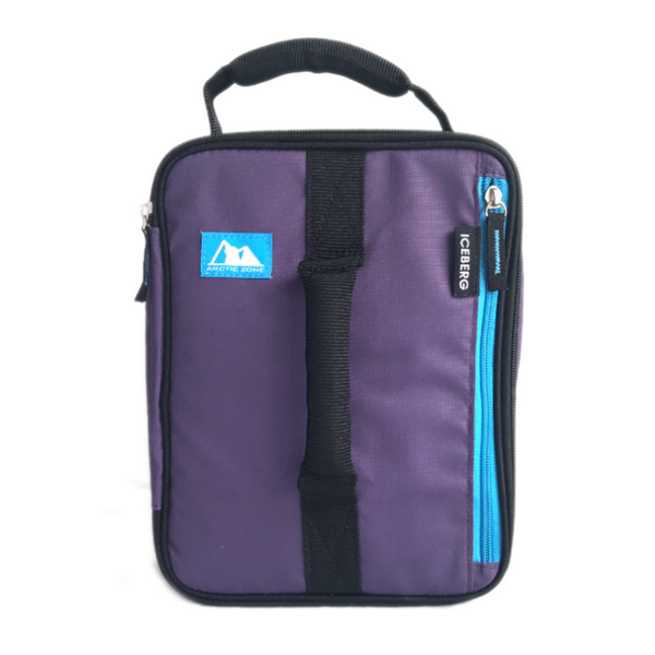 Arctic Zone Expandable Insulated Bag - Purple