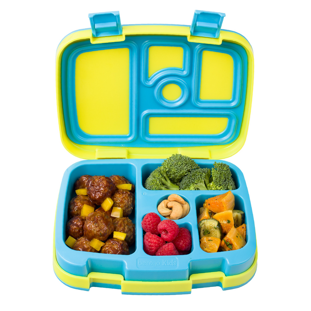 Bentgo Kids Lunch Box - Brights - Yellow/Blue