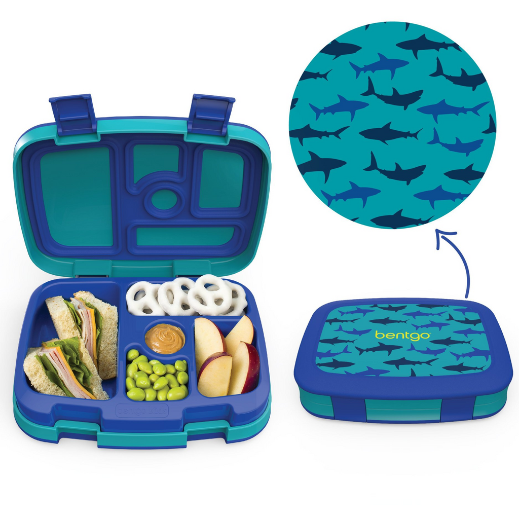 Bentgo Kids Lunch Box - Prints - Shark