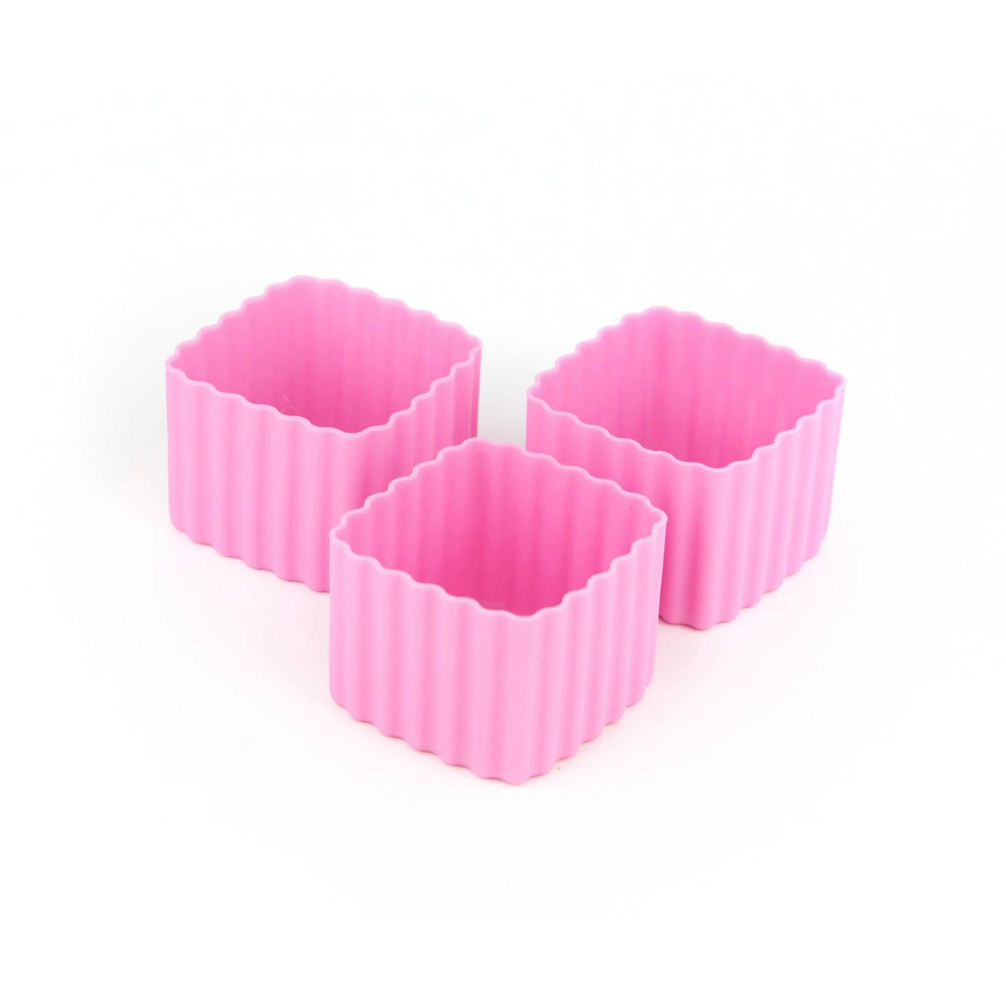 Little Lunch Box Co Square Bento Cups - Pink