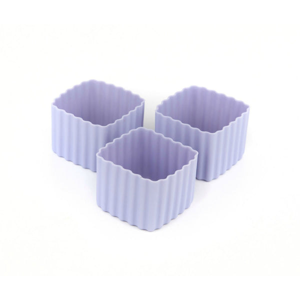 Little Lunch Box Co Square Bento Cups - Purple