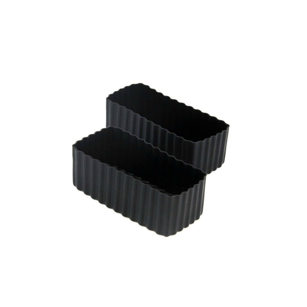 Little Lunch Box Co Rectangle Bento Cups - Black