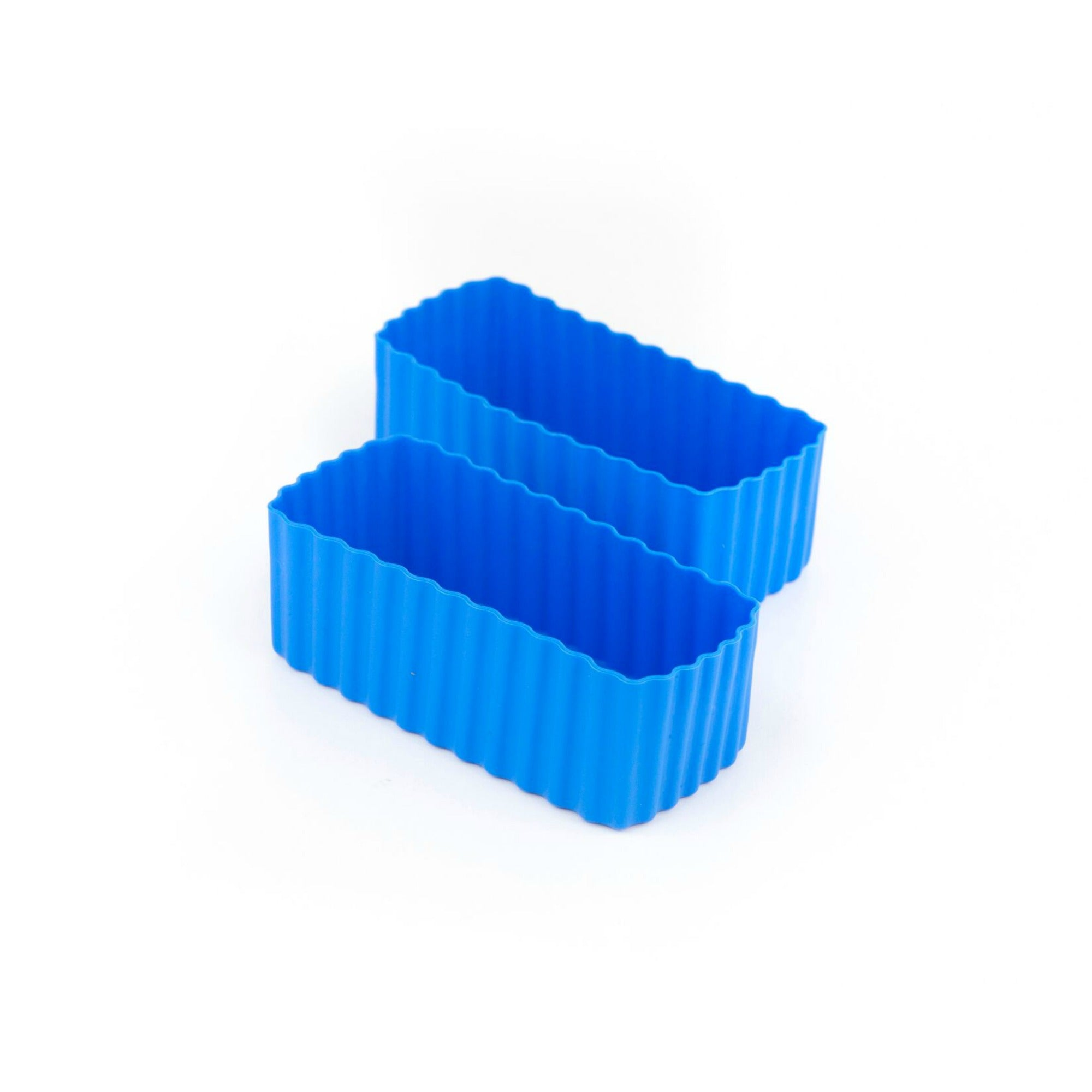 Little Lunch Box Co Rectangle Bento Cups - Blue
