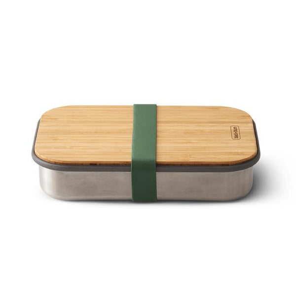 Black+Blum Stainless Steel Sandwich Box - Olive