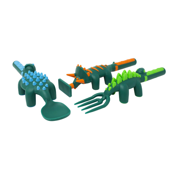 Constructive Eating Cutlery Set - Dinosaur