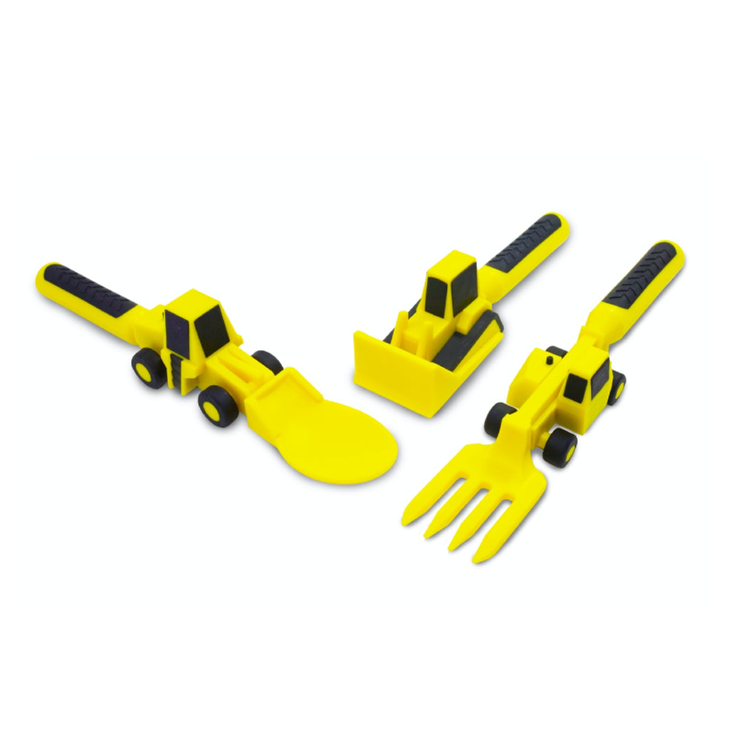 Constructive Eating Cutlery Set - Construction