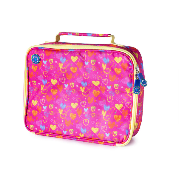 CoolPod Freezable Regular Insulated Bag - Hearts