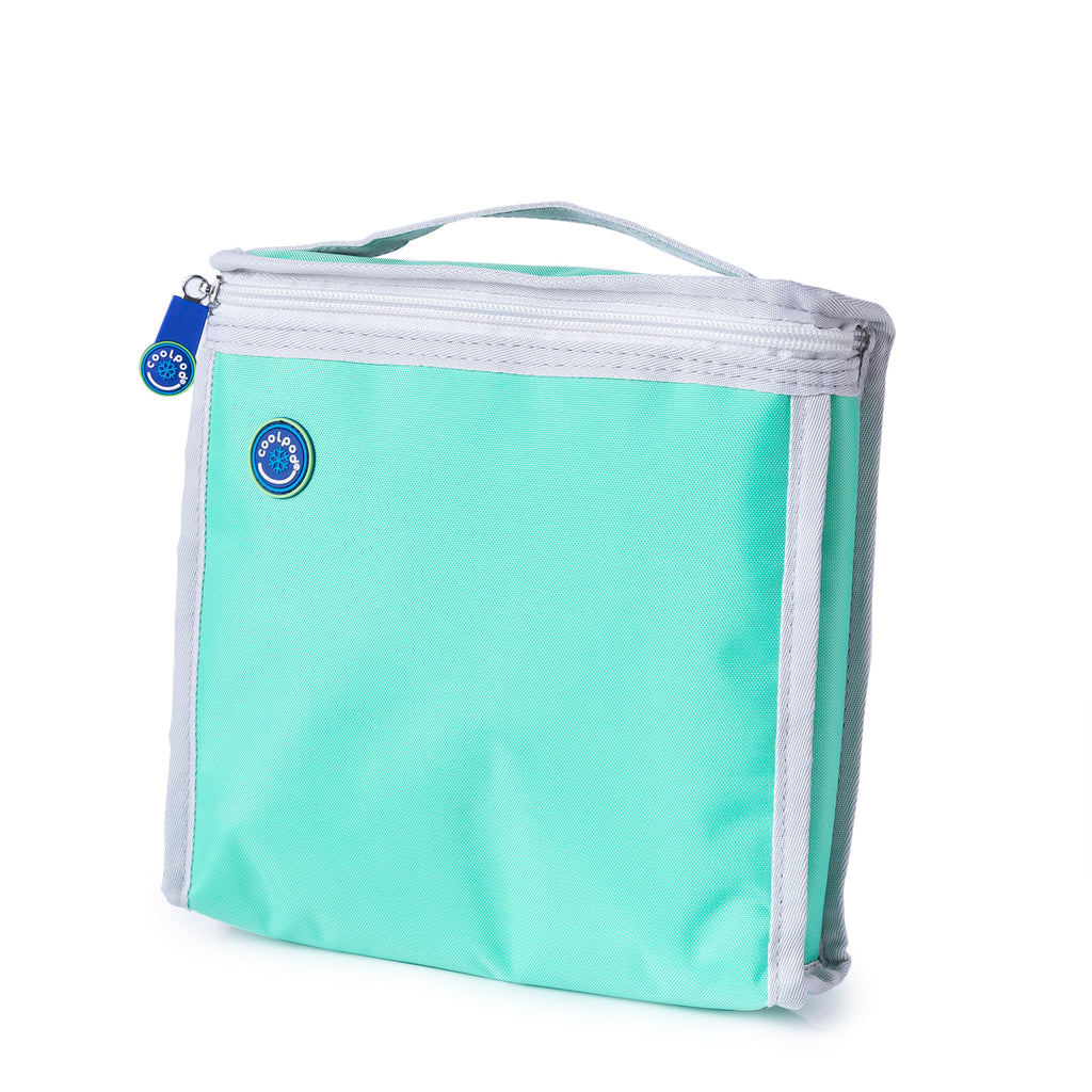 CoolPod Freezable Sandwich Bag - Aqua & Grey