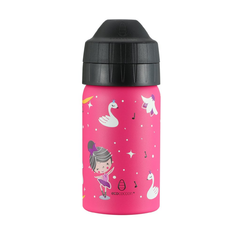 Ecococoon 350ml Drink Bottle - Tiny Dancers