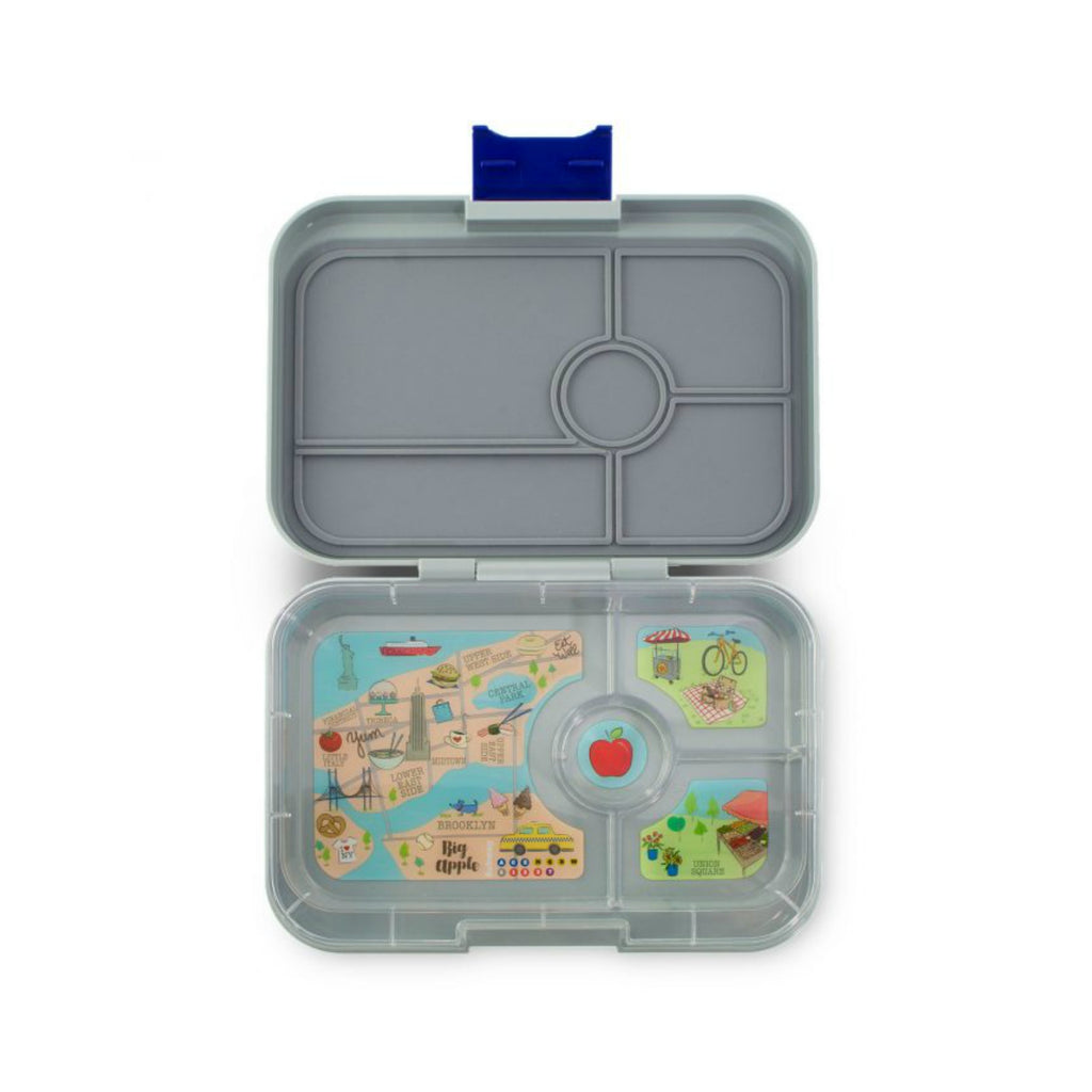 Yumbox Tapas Lunch Box 4 - Flat Iron Grey
