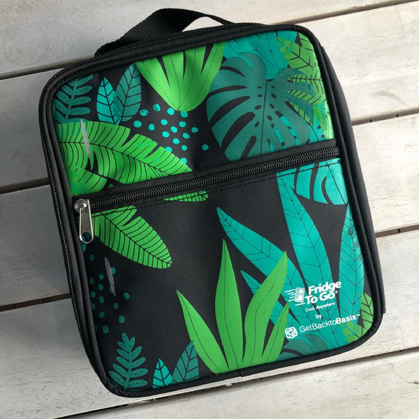 Fridge To Go Insulated Bag - Medium - Jungle