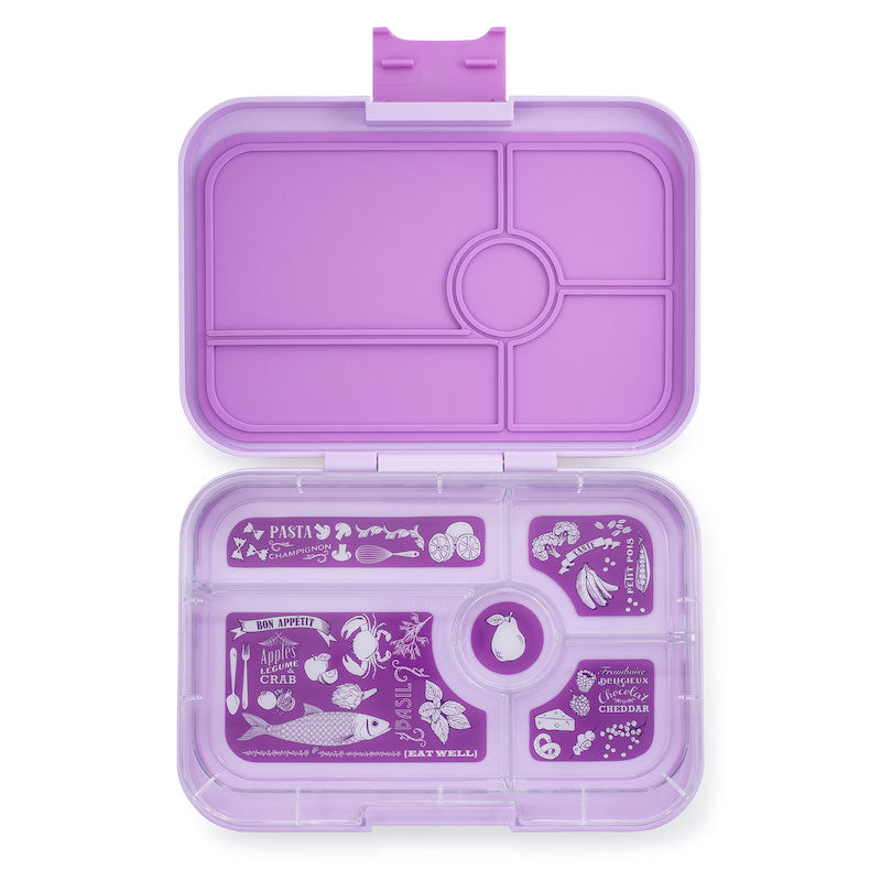 Yumbox Tapas Lunch Box 5 - Lila Purple