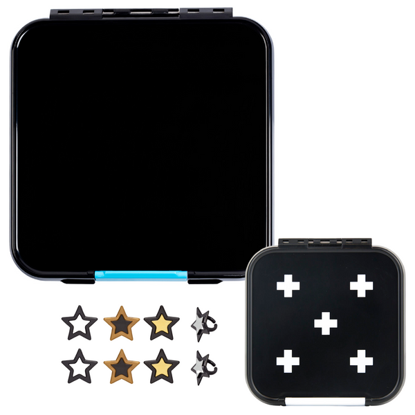 Little Lunch Box Co. Bento Three & Two Bundle - Black
