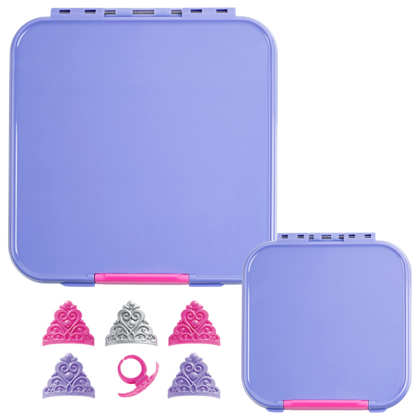 Little Lunch Box Co. Bento Three & Two Bundle - Purple