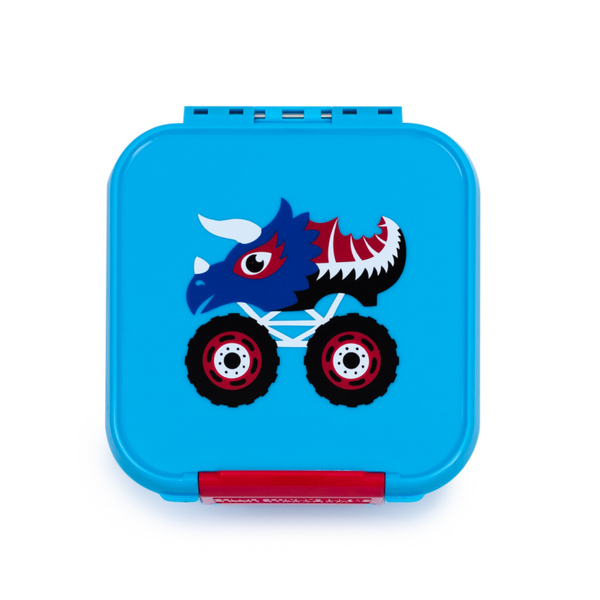 Little Lunch Box Co Bento Two - Monster Trucks