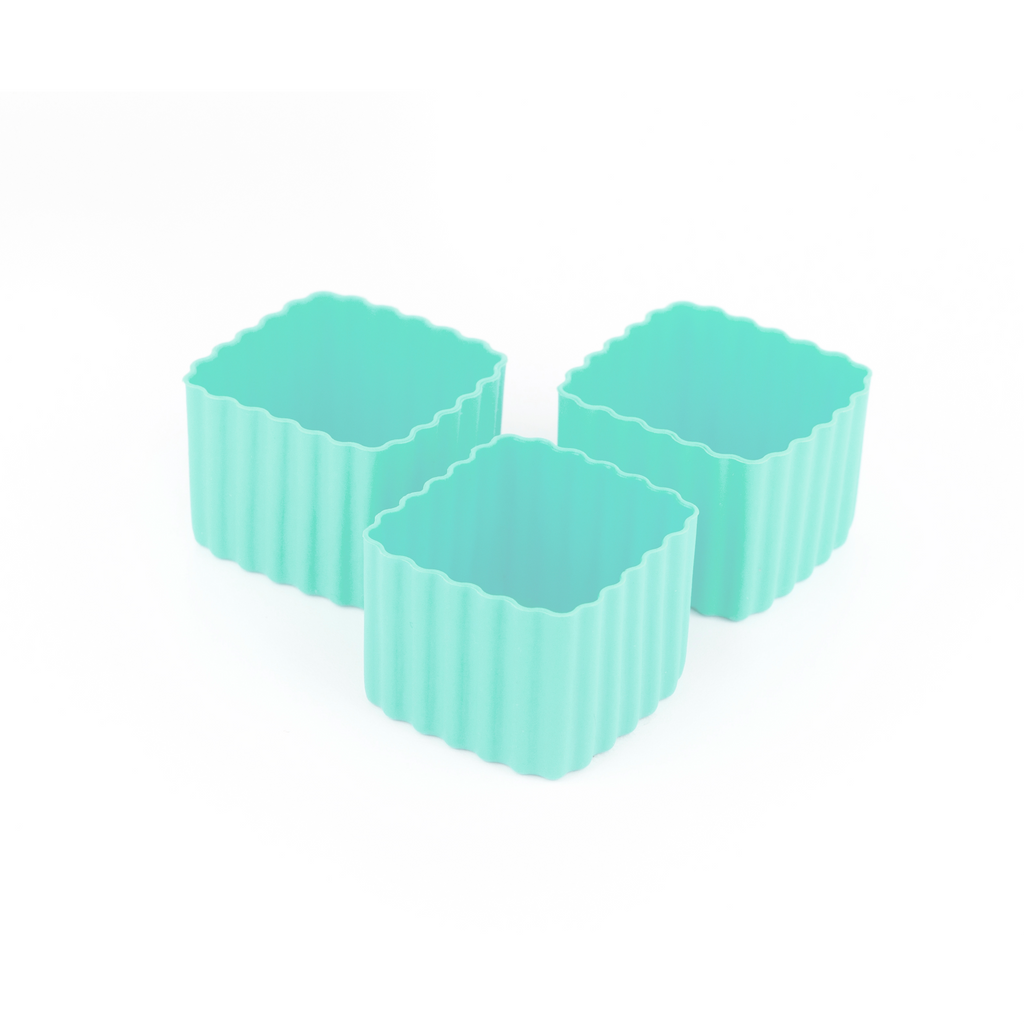 Little Lunch Box Co Square Bento Cups - Mint