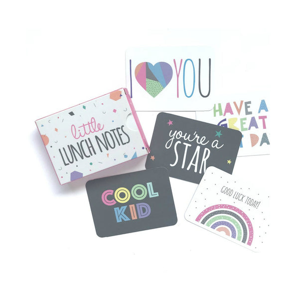Little Lunch Notes - Lunch Box Cards