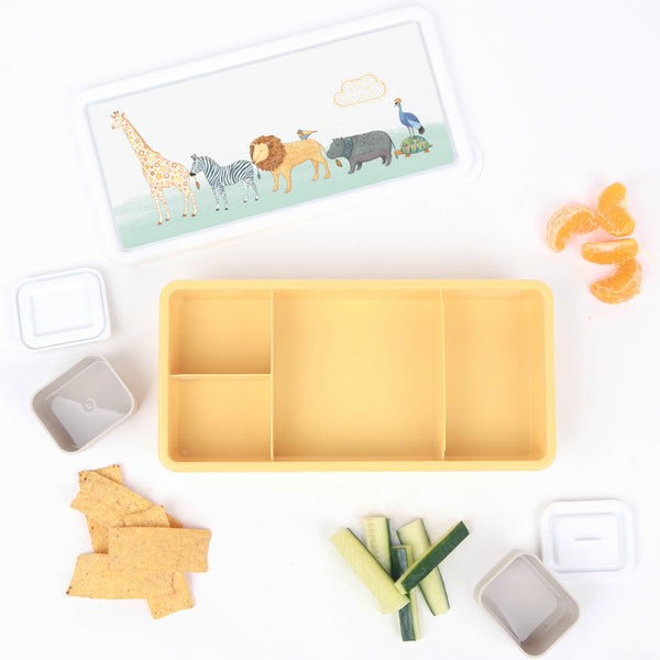Love Mae Bento Lunch Box - On Safari