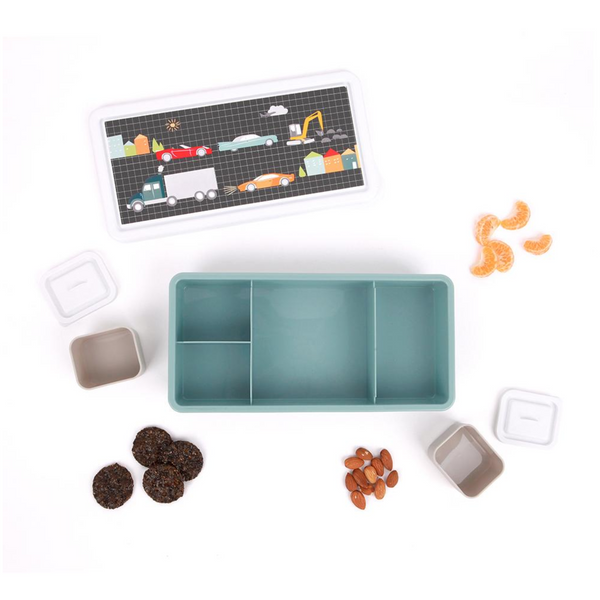 Love Mae Bento Lunch Box - Cars