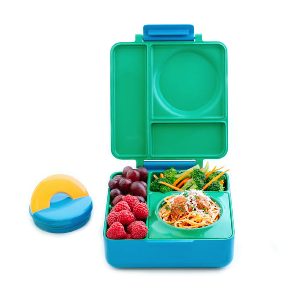 OmieBox Hot & Cold Lunch Box - Meadow