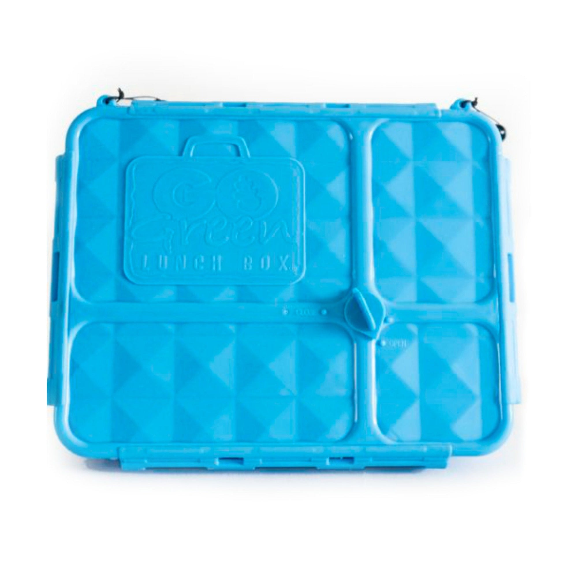 Go Green Lunch Box BLUE - Medium