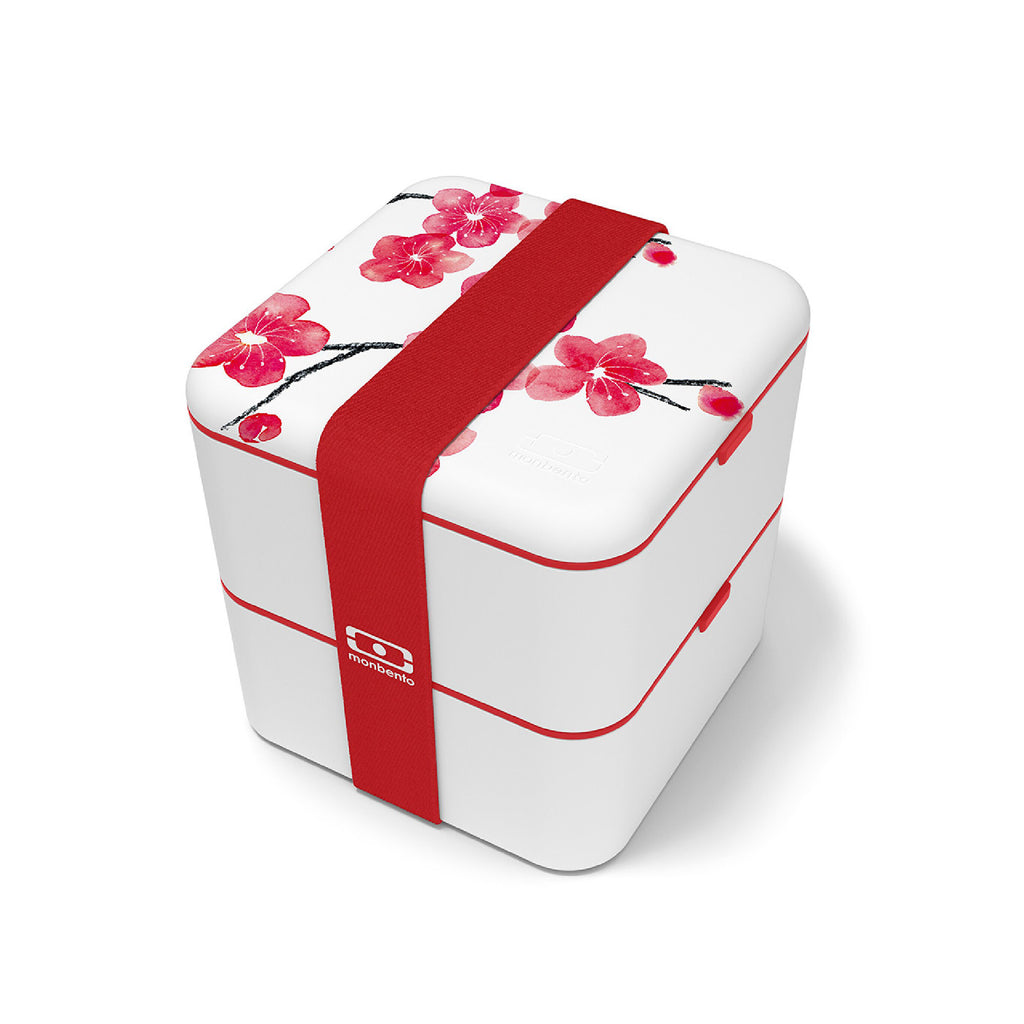 Monbento Square Graphic Lunchbox - Blossom
