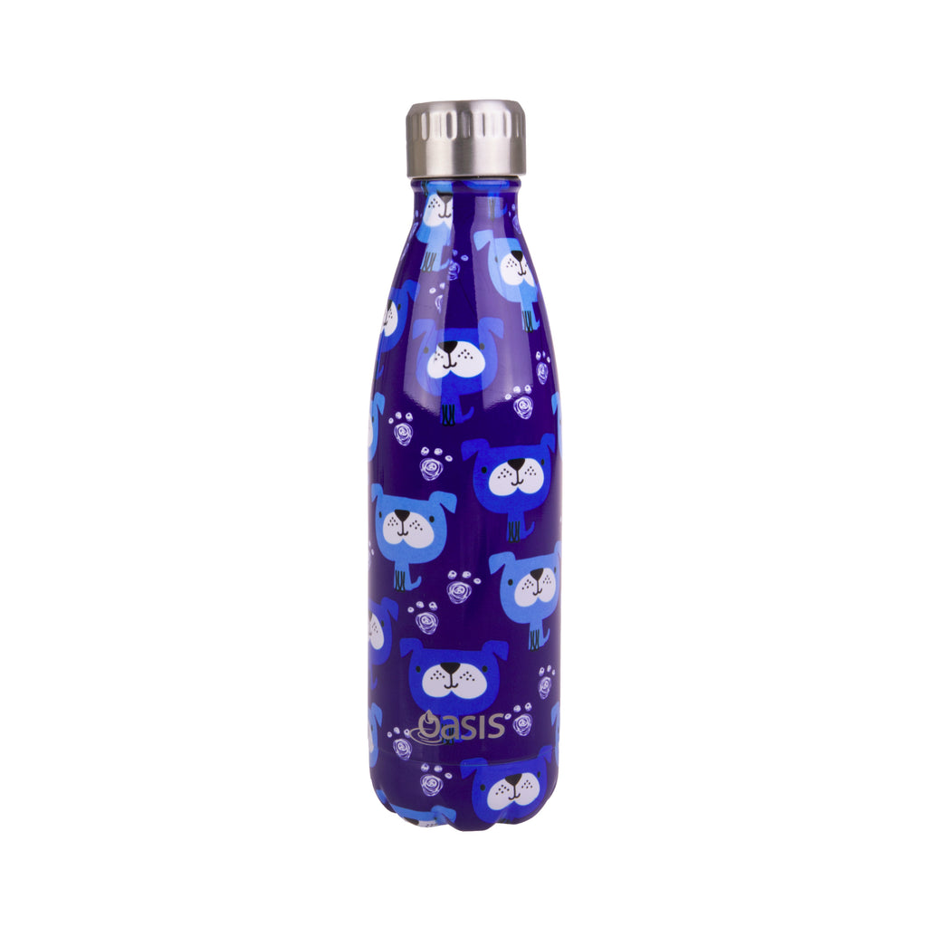 Oasis Insulated Bottle 500ml - Blue Heeler