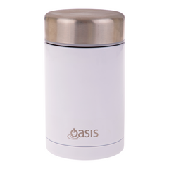 Oasis 450ml Insulated Food Jar - White