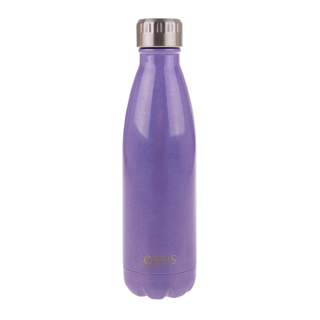 Oasis 500ml drink bottle purple lustre