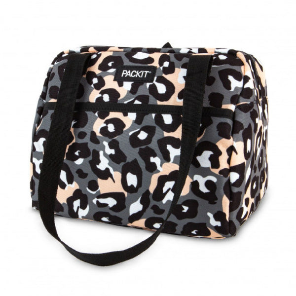 PackIt Freezable Hampton Bag - Leopard Grey