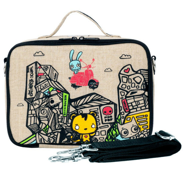 SoYoung Insulated Lunch Bag - PixoPop Pishi Burger