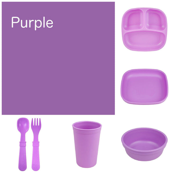 Re-Play Recycled Dinner Set - Purple