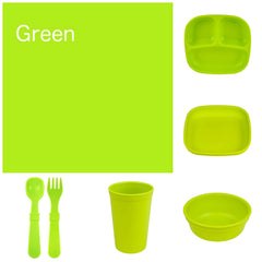 Re-Play Recycled Dinner Set - Green