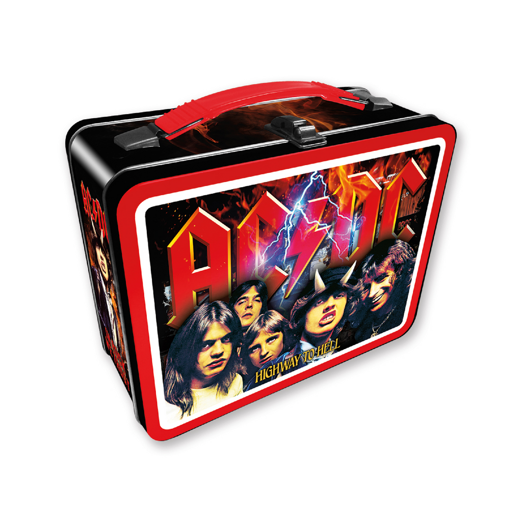 Retro Tin Lunch Box - AC/DC Highway To Hell
