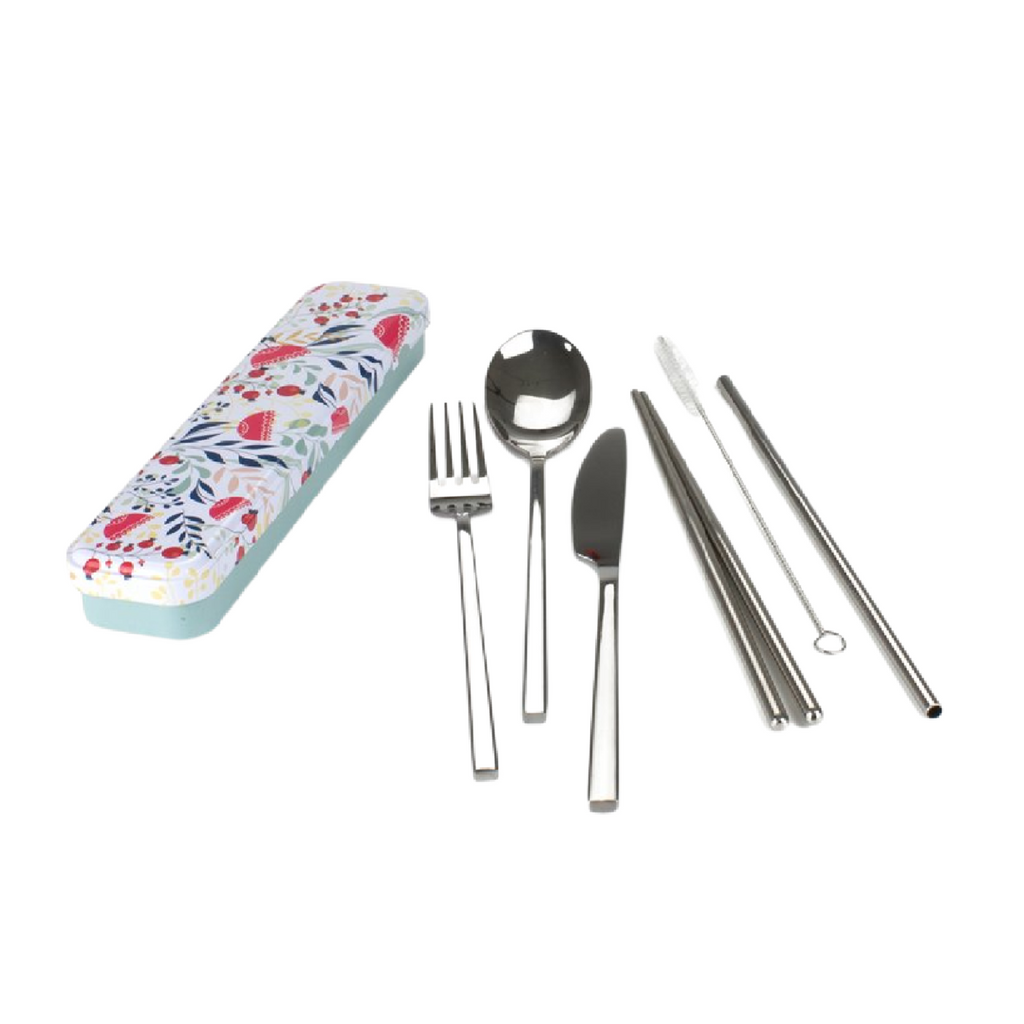 Retrokitchen Carry Your Cutlery - Botanical