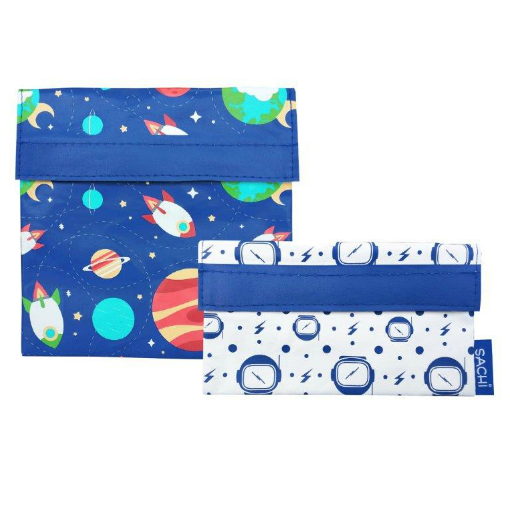 Sachi Sandwich & Snack Bags - Outer Space